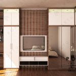 Interior Kamar Tidur Project Kemanggisan