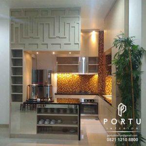 lemari dapur design minimalis modern by portu