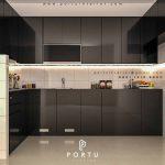Dapur Lebih Menarik Dengan Kitchen Set Hitam Glossy