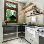 kitchen set anti rayap design custom by Portu Interior