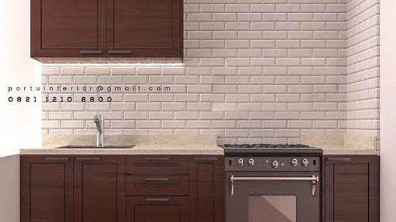 Kabinet Dapur Bawah Desain Klasik Untuk Dapur Lebih Menarik