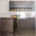 Kitchen Set Dapur Bersih Atau Kering Untuk Mengolah Makanan Simple