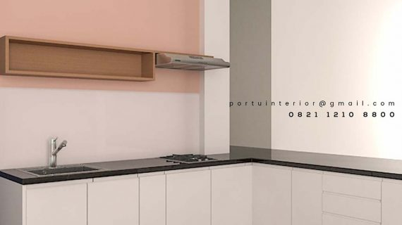 design kitchen set minimalis modern by portu id3377