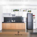 kitchen set minimalis terbaru 2019 by Portu Interior