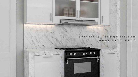 Kitchen Set Minimalis Mewah Pakubuwono Kebayoran Baru