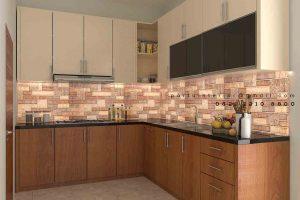 pembuatan kitchen set jakarta custom Portu Interior
