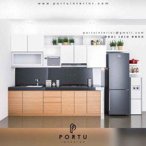 kitchen set murah minimalis by Portu Interior
