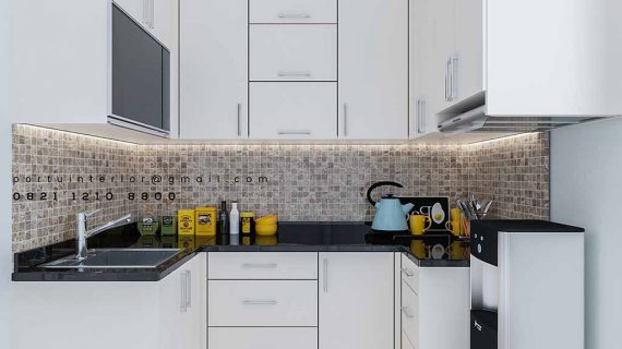 buat kitchen set jakarta selatan Portu Interior