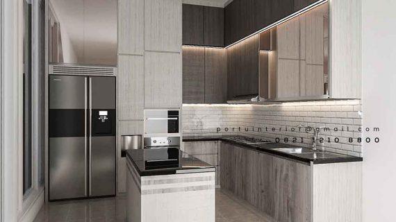 harga kitchen set jakarta desain minimalis