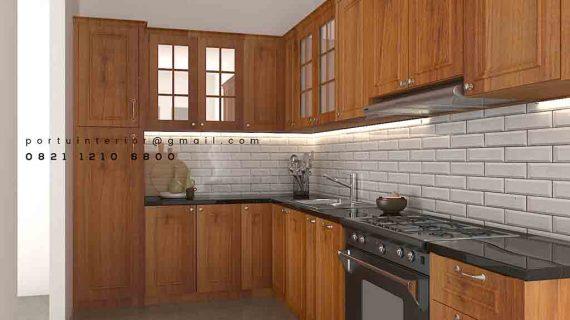 pembuatan kitchen set jakarta desain custom