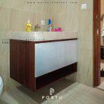 contoh kabinet wastafel untuk kamar mandi