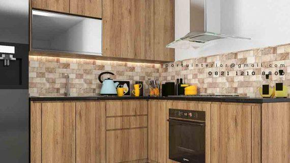 harga kitchen set tangerang per meter terbaru