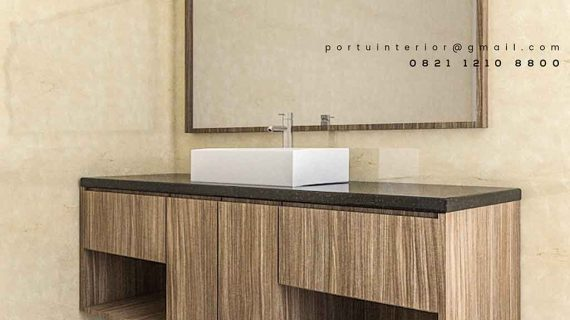 jual kabinet wastafel kamar mandi design minimalis modern