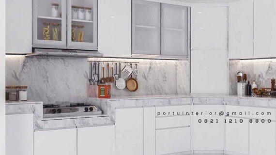 jual kitchen set tangerang design minimalis