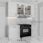 kitchen set di tangerang by Portu Interior