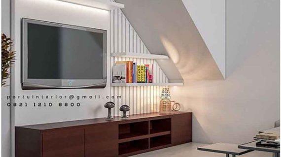Model credenza tv minimalis moden by Portu Interior