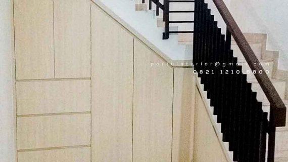 Review Model Lemari Dibawah Tangga Komplek Pemda DKI Pondok Kelapa