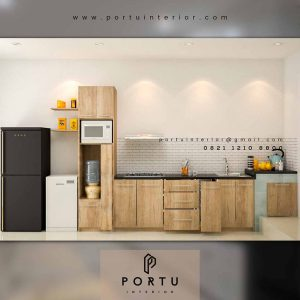 Jasa Kitchen Set Minimalis Custom Di Portu Interior id4178