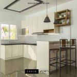 Jasa Pembuatan Lemari Dapur Bahan HPL Di Perumahan Palem Semi Karawaci
