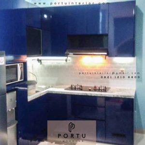 Lemari Dapur Custom Klien Royale Bintaro Residence Ciputat id4065