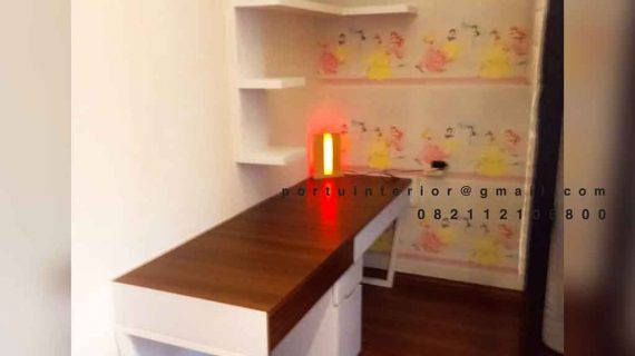 Pembuatan Meja Belajar Minimalis Project Di Sasak Tinggi Kedaung Pamulang Ciputat