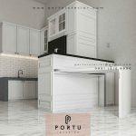 Model Kitchen Set Klasik Modern Klien Villa Regency Tangerang
