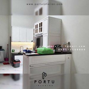 Model Kitchen Set Klasik Modern klien Villa Regency Tangerang id4165p