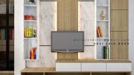 Inspirasi Backdrop Tv Minimalis Mewah Desain Terbaru