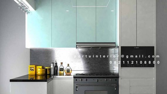 Kitchen set Minimalis Modern Untuk Ruangan Terbatas