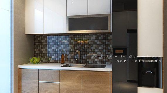 Kitchen set minimalis letter L