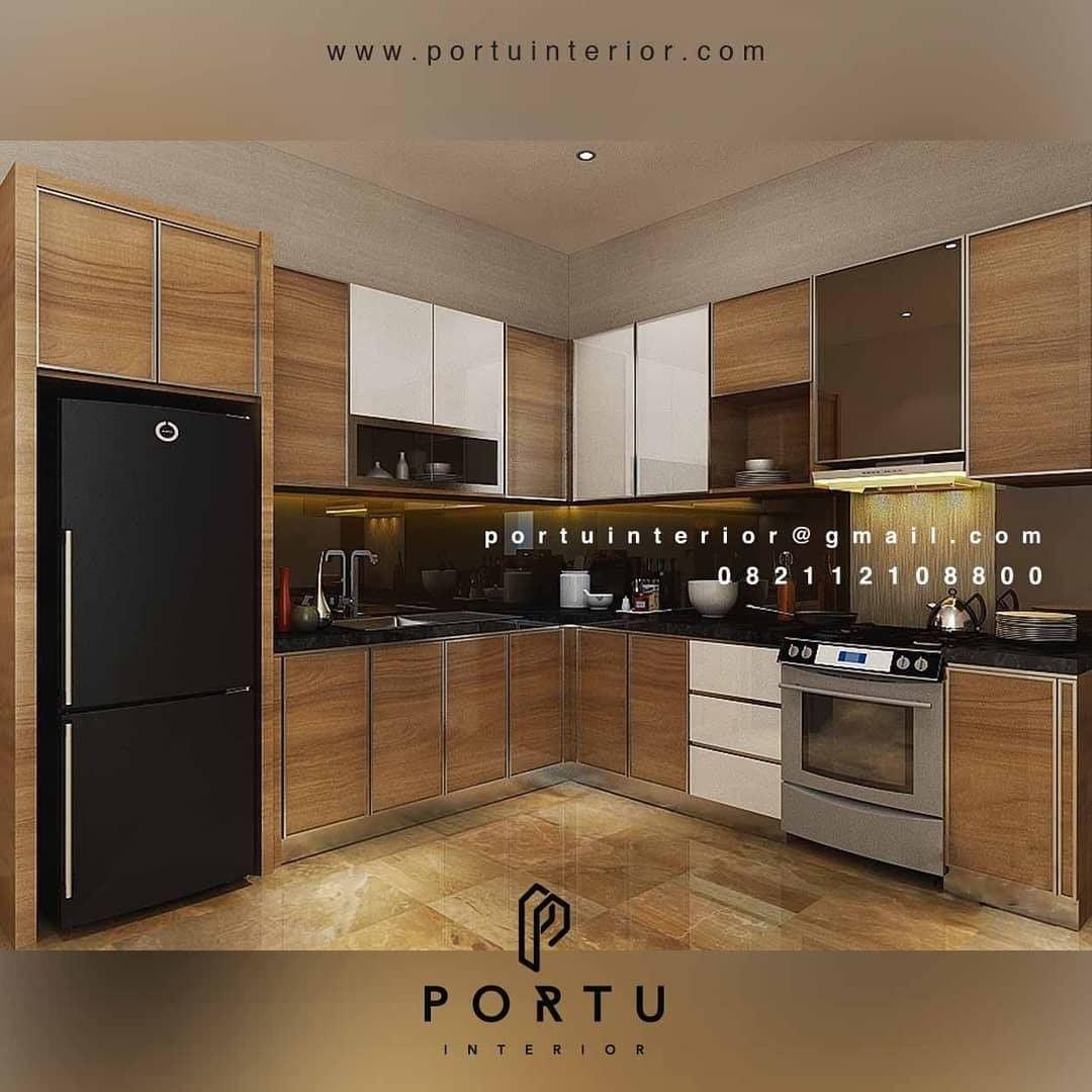 Inspirasi Model kitchen Set Minimalis Tahun 2020 | Portu ...