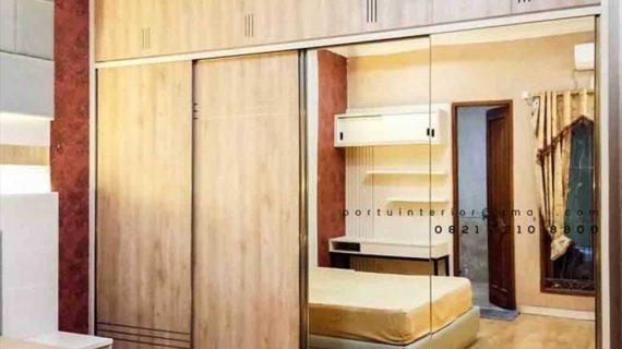 lemari pakaian minimalis kamar tidur terbaru 2020