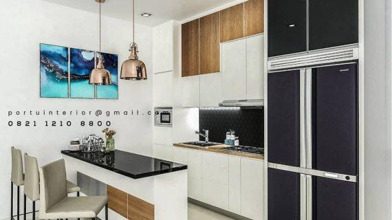 model kitchen set minimalis & minibar