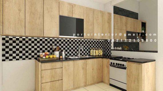 110+ Portofolio Buat Kitchen Set Motif Kayu Design Fungsional
