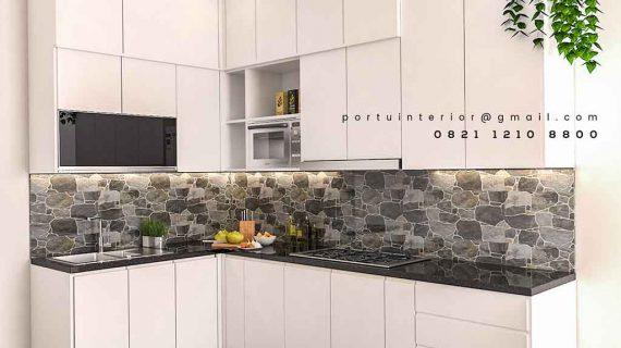 120+ Gambar Kitchen Set Warna Putih Modern Banget