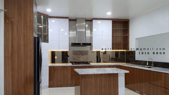 Bikin Kitchen Set Warna Putih di Cilandak Jakarta Selatan Id4768PT