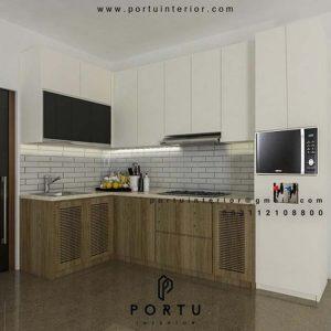 Buat kitchen Set Kombinasi Finishing Perumahan Sarua Permai Pamulang Tangerang id4426pt