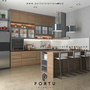 Contoh Kitchen Set di Pamulang Tangerang Beserta Model