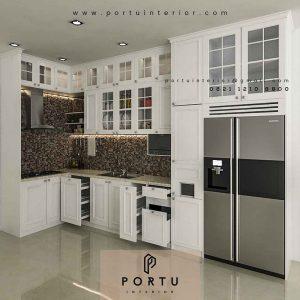 Jual Kitchen Set Murah Custom Berbagai Desain Menarik