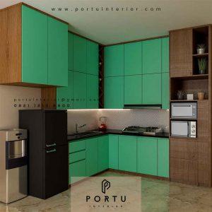 Jual Kitchen Set Murah Dan Berkualitas kombinasi warna