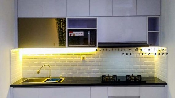 Jual Kitchen Set Warna Putih Sukabumi Utara kebon Jeruk Jakarta id4278P