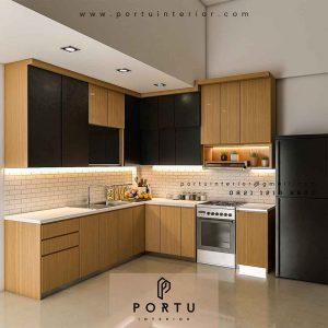 harga kitchen set minimalis modern