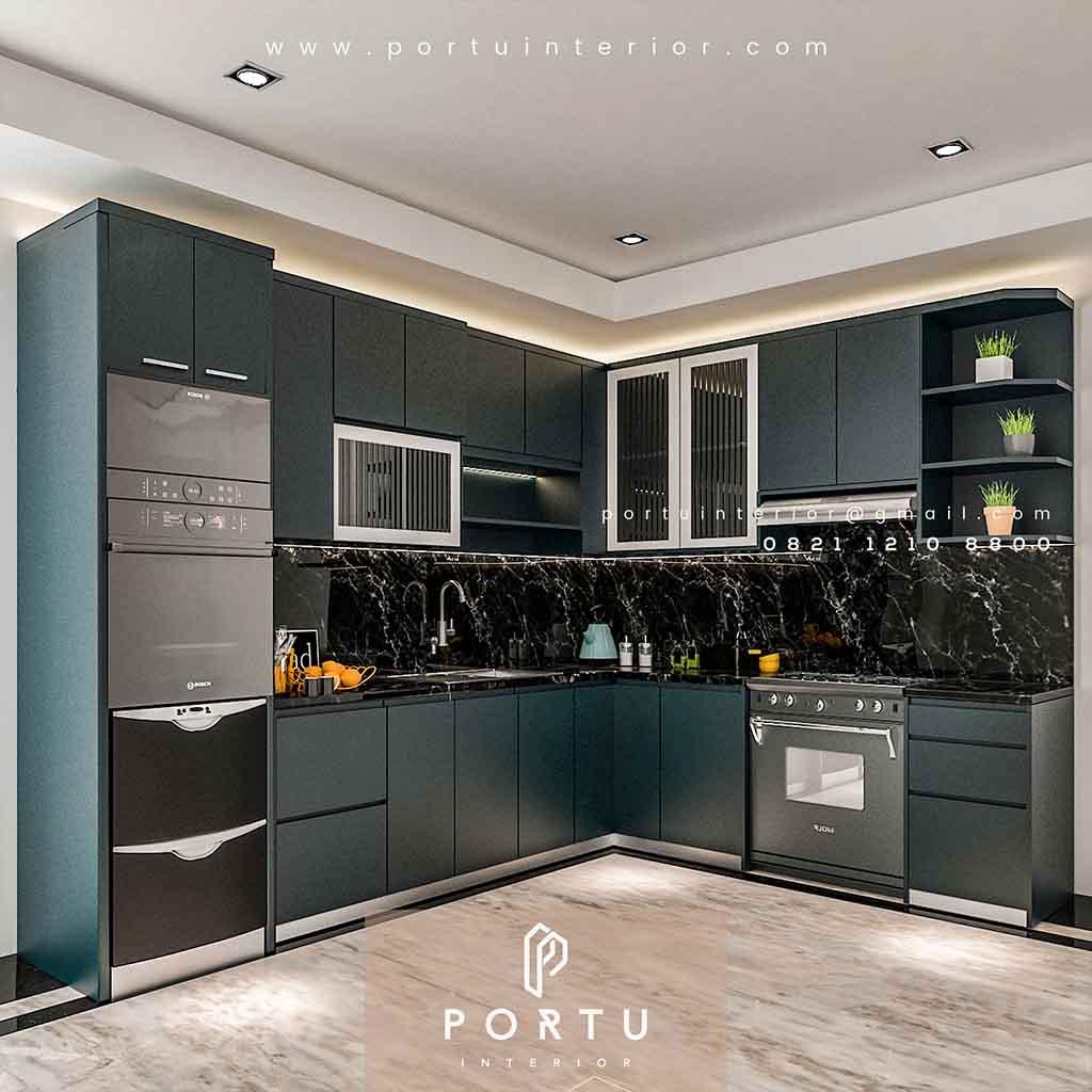 Cek Daftar Harga Kitchen Set Terbaru 2020 Sebelum Membelinya Portu Interior