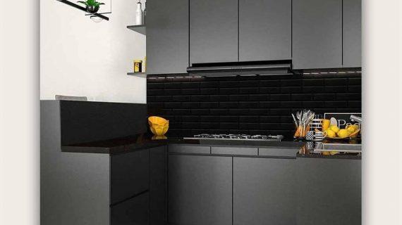 120+ Portofolio Kitchen Set Warna Grey Paling Populer Banget