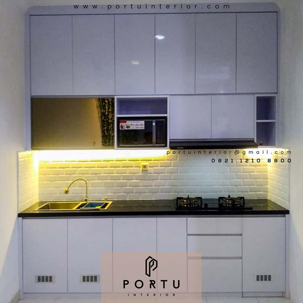 Kitchen Set Minimalis Portu Interior Part 2