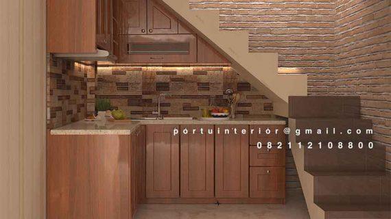 Kitchen Set Minimalis Portu Interior