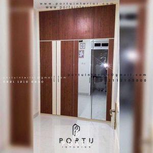 Jual Lemari Pakaian Pintu Swing Finishing Motif Kayu Pisangan Timur Pulo gadung Jakarta id3990