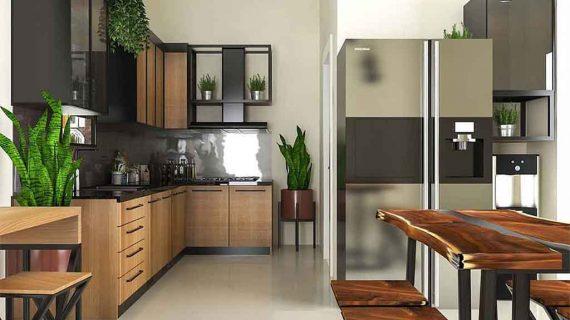Model Lemari Dapur Yang Fungsional