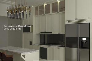 Kitchen Set American Style Putih Kompleks Dep Pertanian Pejaten Pasar Minggu Jakarta ID44709