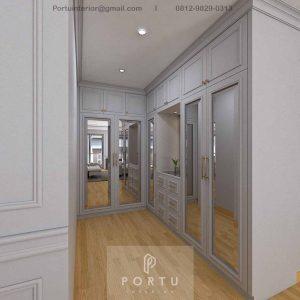 Walk In Closet Semi Klasik Grey Cluster Violin Golf Island Pik Penjaringan Jakarta ID4969P
